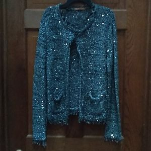 Sequent knitted jacket